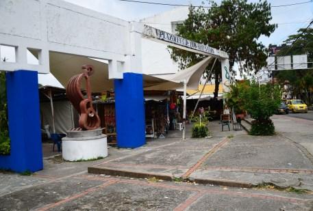 Plazoleta de los Artesanos in Ibagué, Tolima, Colombia