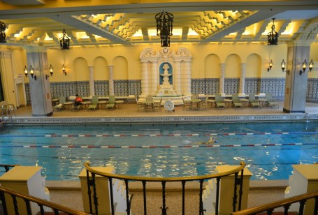 Johnny Weissmuller Pool at the Hotel InterContinental in Chicago
