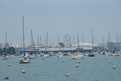 Monroe Harbor in Chicago
