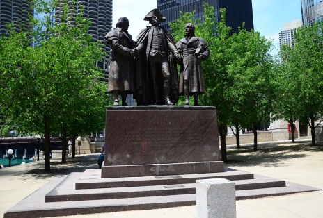 Heald Square Monument in Chicago