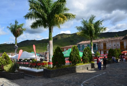 Plaza in Concepción, Antioquia, Colombia