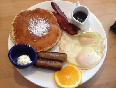 Breakfast at Yolk Restaurant in Chicago
