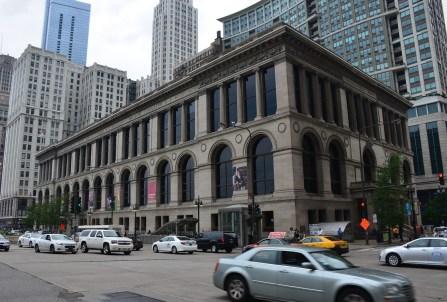 Chicago Cultural Center on Michigan Avenue