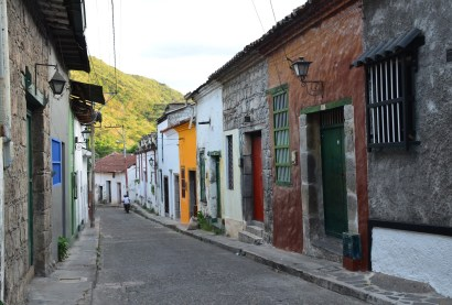 A street in Honda, Tolima, Colombia