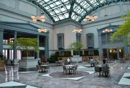 Winter Garden in the Harold Washington Library in Chicago