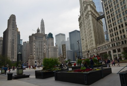 Pioneer Court in Chicago