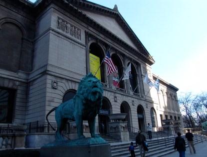 Art Institute of Chicago in Grant Park
