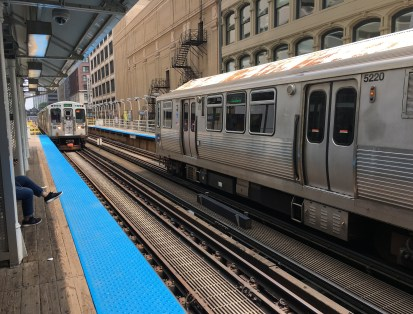 State & Lake CTA station in Chicago, Illinois