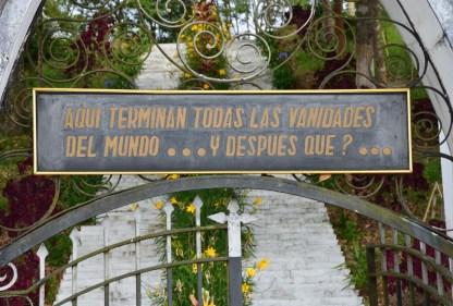 Cemetery in Risaralda, Caldas, Colombia