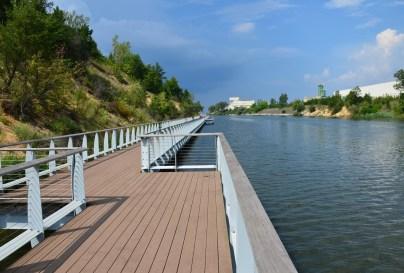 Portage Lakefront and Riverwalk at Indiana Dunes National Lakeshore