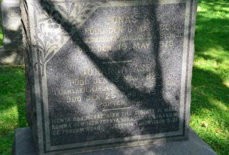 Burstrom Swedish Cemetery in Porter, indiana