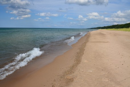 Beach at Cowles Bog trail Indiana Dunes National Lakeshore