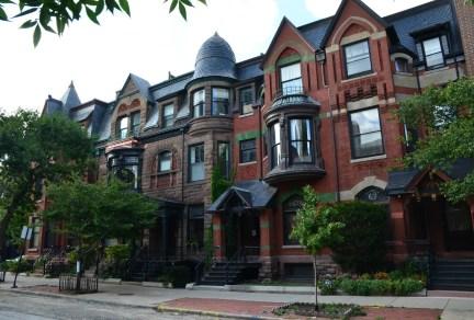 Olsen-Hansen Row Houses in Old Town Chicago