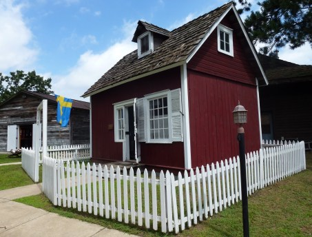 Swedish House at Pioneer Village in Nisswa, Minnesota
