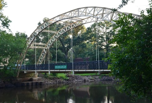 Dunn's Bridge over the Kankakee River in Porter County Indiana