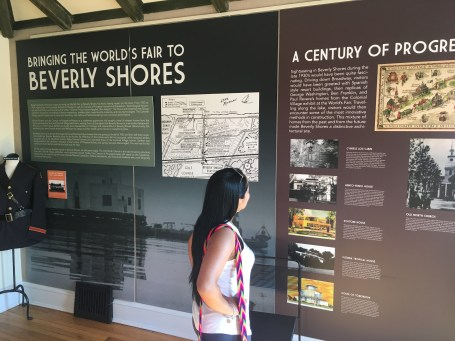 Beverly Shores Museum in Porter County, Indiana