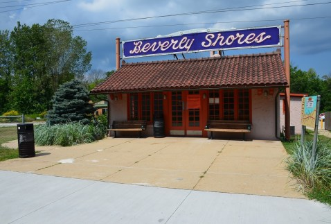 Beverly Shores Depot in Porter County, indiana