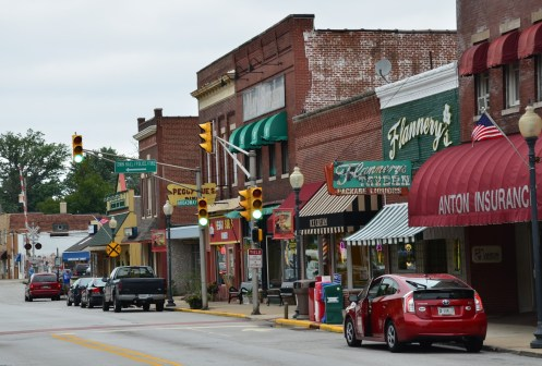 Downtown Chesterton Indiana