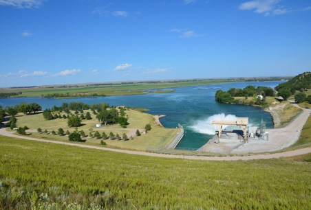 Kingsley Dam on Lake McConaughy Ogallala Nebraska
