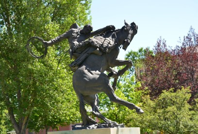 Spirit of Wyoming at the Wyoming State Capitol in Cheyenne