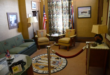 Governor's office in the Wyoming Governor's Mansion in Cheyenne