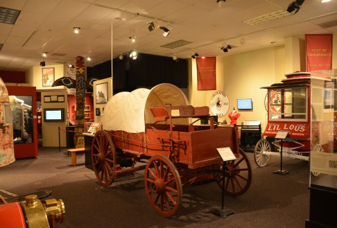 Frontier Days exhibit at the Cheyenne Frontier Days Old West Museum in Wyoming