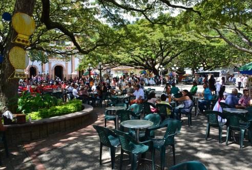 Ciudad Bolívar Main Plaza Antioquia Colombia