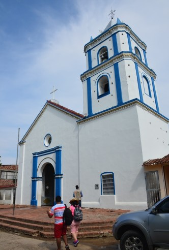 Villavieja Church Colombia Huila