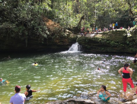 Fin del Mundo nature reserve in Mocoa Putumayo Colombia