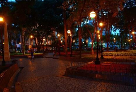 Parque Santander in Neiva Huila Colombia