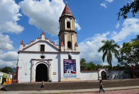 Gigantic Church Huila Colombia