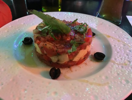Caprese at Restaurante Italiano da Ugo in San Agustín Huila Colombia