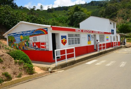 School - After at Andrés Escobar School in Belén de Umbría, Risaralda, Colombia