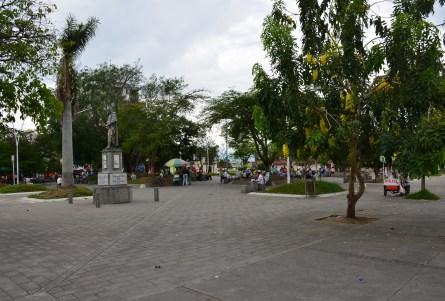 Plaza de Boyacá in Tuluá, Valle del Cauca, Colombia