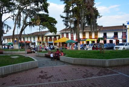 Plaza in Darién, Valle del Cauca, Colombia