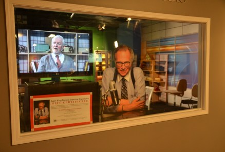 Larry King Interview at Museum of Broadcast Communications in Chicago, Illinois