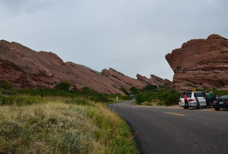 Red Rocks Park and Amphitheatre in Morrison, Colorado