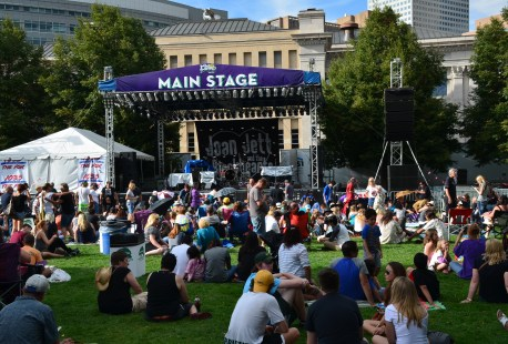 Main Stage at A Taste of Colorado in Denver