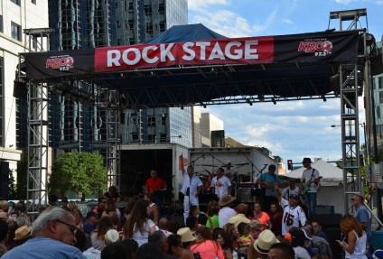 Rock Stage at A Taste of Colorado in Denver