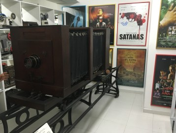 World's largest camera at Caliwood in Cali, Colombia