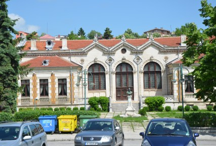 Dobry Voynikov Community Center on ulitsa Tsar Osvoboditel in Shumen, Bulgaria