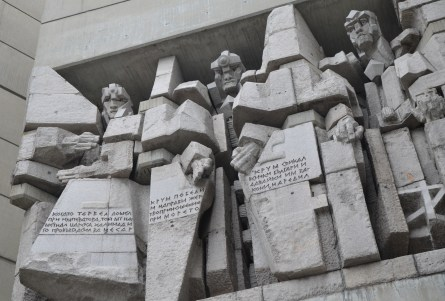 Founders of the Bulgarian State Monument in Shumen, Bulgaria