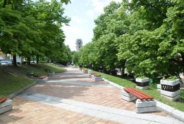 Bulevard Slavyanski in Shumen, Bulgaria