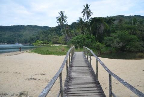 Praia do Pouso on Ilha Grande, Brazil