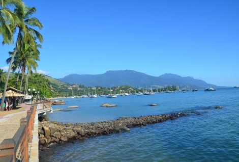 Seaside at Vila Ilhabela, Brazil