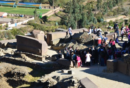 Temple of the Sun at Ollantaytambo, Peru