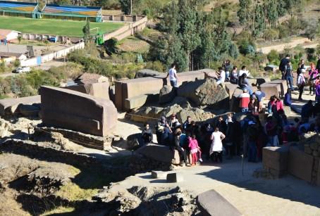 Temple of the Sun at Ollantaytambo, Peru