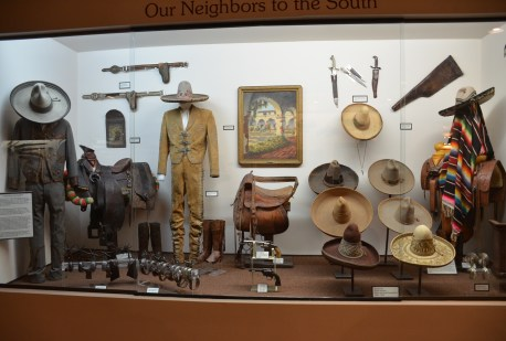 Mexican display at the Nelson Museum of the West in Cheyenne, Wyoming