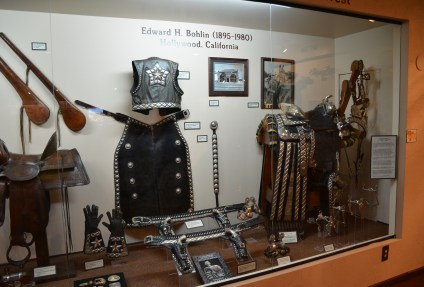 Edward Bohlin display at the Nelson Museum of the West in Cheyenne, Wyoming