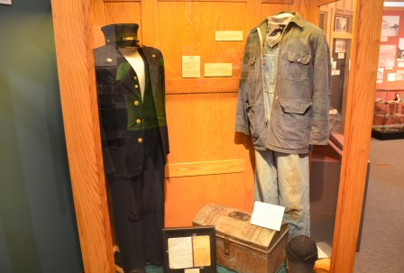 Uniforms at the Cheyenne Depot Museum in Wyoming